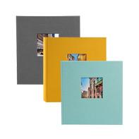 Kleurrijke fotoalbums
