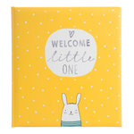 Goldbuch Welcome Little One yellow kinderalbum 15180U