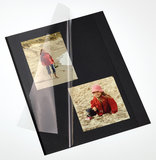 Walther zelfklevende fotobladen zwart
