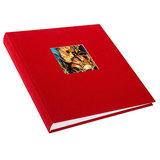 Goldbuch fotoalbum Bella Vista klein rood