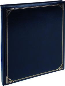 Henzo fotoalbum Promo Black 10.854.00 blauw
