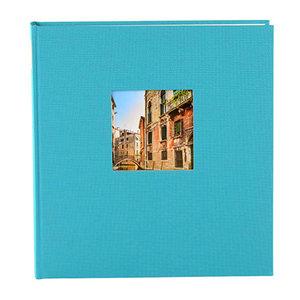 Goldbuch fotoalbum Bella Vista klein blauw turquoise