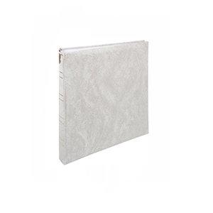 Henzo Basicline fotoalbum wit met witte bladen 10.014.02